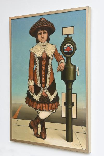 American 20th Century Oil on Canvas Robert Springfels