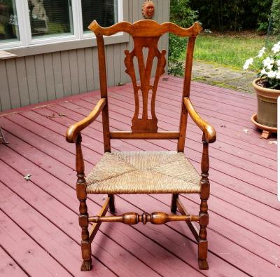 American Chippendale Great Chair circa 1760