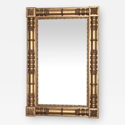 American Classical Pier or Overmantle Mirror