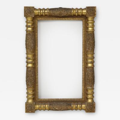 American Empire gilded picture frame