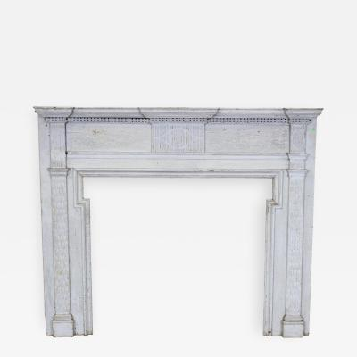American Federal Chip Carved Mantel