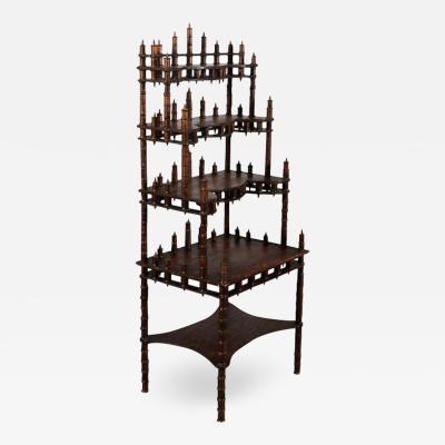 American Folk Art Spool Shelves