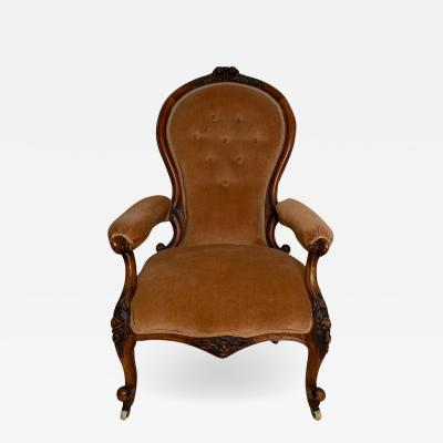 American Mid 19th Century Victorian Arm Chair