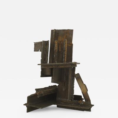 American Mid Century Modern Brutalist Sculpture