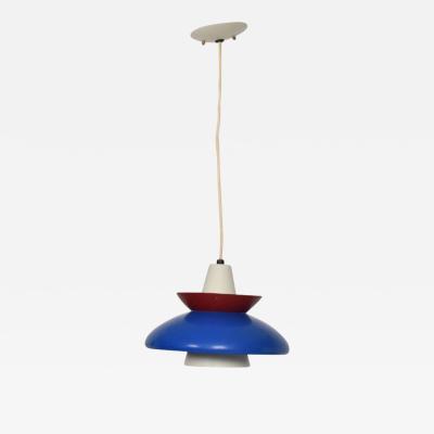 American Mid Century Modern Pendant Light Sculptural Shape