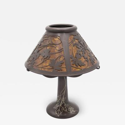American Mission Heintz Art Metal Table Lamp