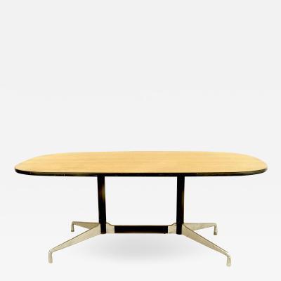 American Post War Wood Veneer Conference Table