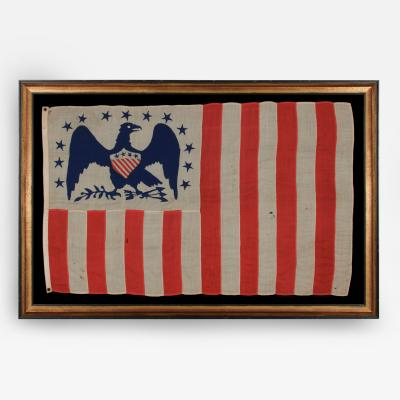 American Revenue Cutter Service Ensign Belonging to Captain William Henry Bagley