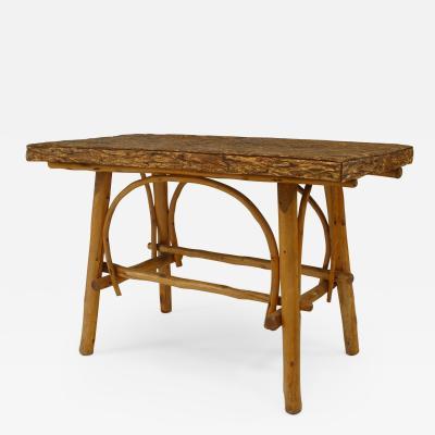 American Rustic Adirondack Center Table