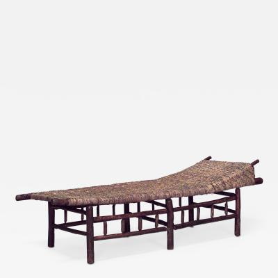 American Rustic Old Hickory Daybed Chaise Lounge