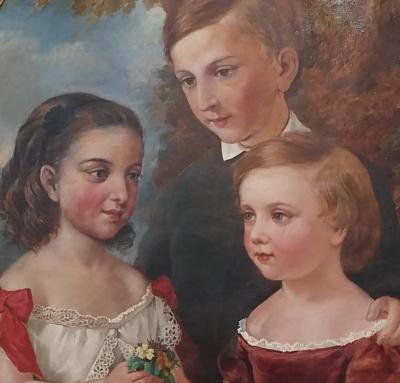 American School Childrens Portraits