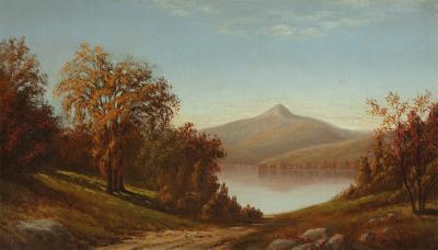 American School View of Mount Chocorua from Lake Chocorua