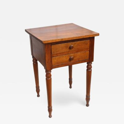 American Sheraton Cherrywood Side Table