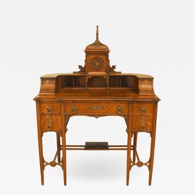 American Victorian Gothic Revival Carlton House Desk