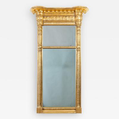 American gilt tabernacle pier mirror by Waterhouse