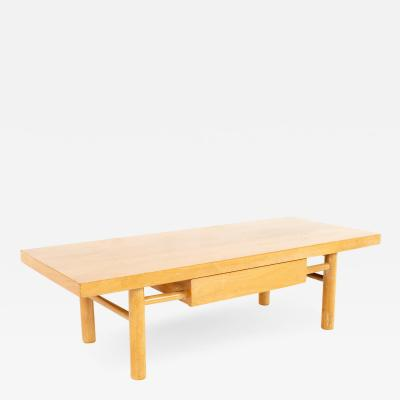 American of Martinsville Mid Century Blonde Coffee Table
