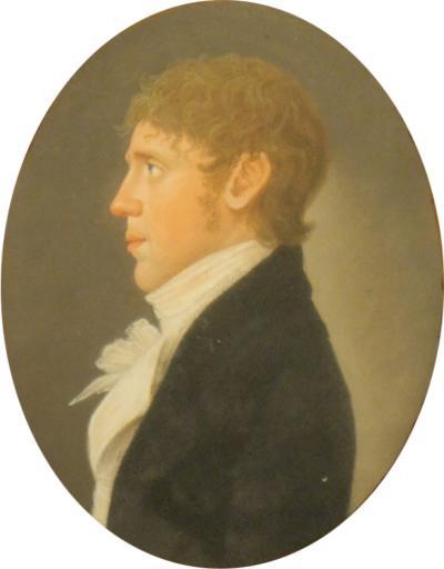 American pastel portrait