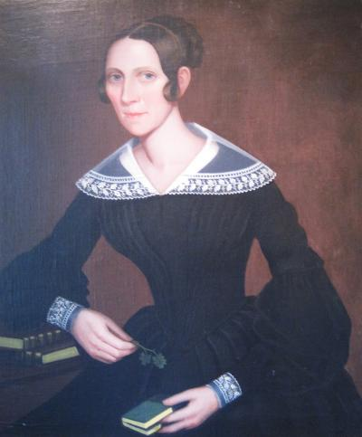 Ammi Phillips Portrait of Mary Hoyt