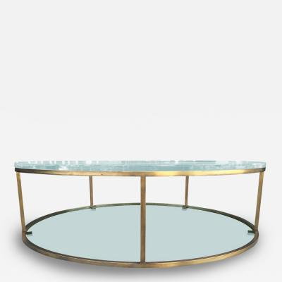 Amparo Calderon Tapia Two Level Coffee Table Aro II by Amparo Calderon Tapia