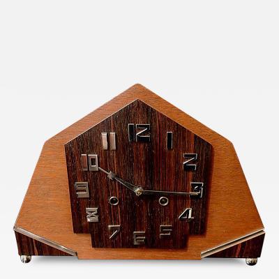 Amsterdam School Art Deco Clock