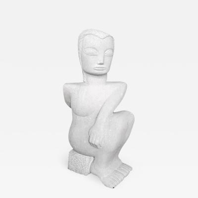 Amy Gans Small Modernist Stone Sculpture By Amy Gans Small