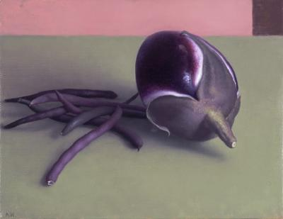 Amy Weiskopf Eggplant and Purple Beans