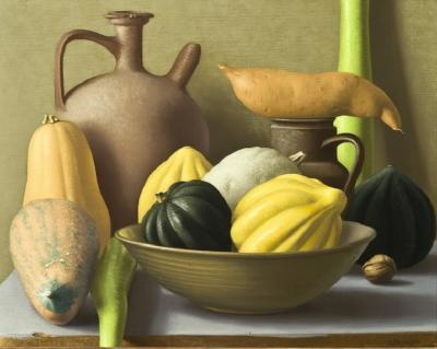 Amy Weiskopf Still Life with Squash