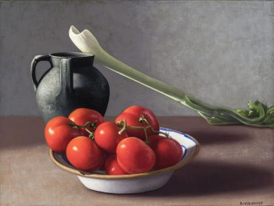 Amy Weiskopf Tomatoes Celery and Vessel