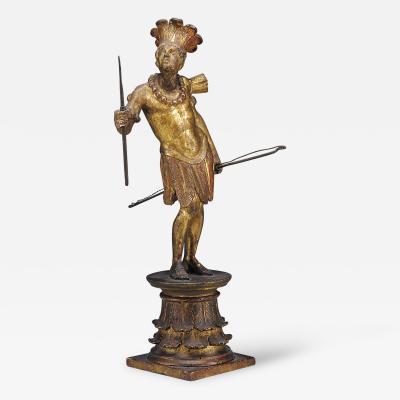 An Allegorical Figural of America Austrian ca 1800
