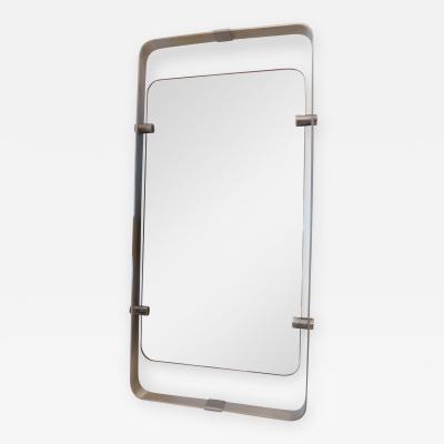 An Aluminum Wall Mirror Italy 70