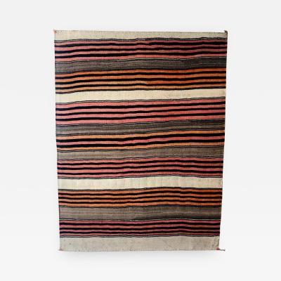 An Antique Navajo Banded Blanket