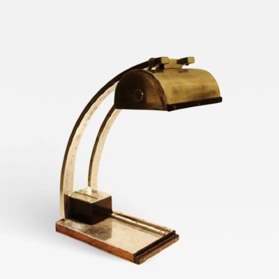 An Art Deco Desk Lamp in the Spirit of Le Chevallier and Koechlin 1930s