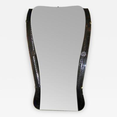 An Art Deco Two Toned Wall Mirror