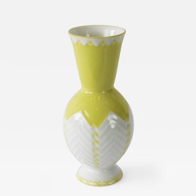 An Augarten Vienna Porcelain Vase