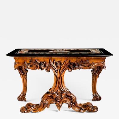 An Early Victorian Ashford Marble Table