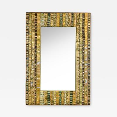An Elegant Mosaic Mirror by Dusciana Bravura
