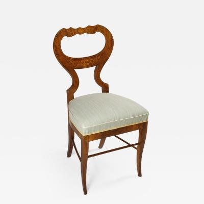 An Elegant Single Biedermeier Side Chair