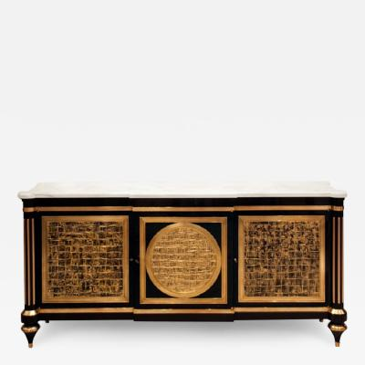 An Elegant and Spectacular Neoclassically Inspired Sideboard by Iliad design