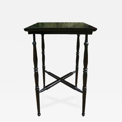 An English Aesthetic Movement Ebonized Occasional Table