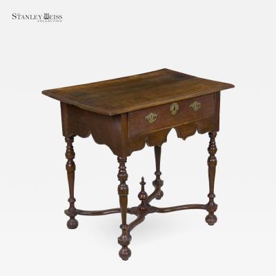 An Oak William Mary Lowboy Dressing Table England c 1680 1700