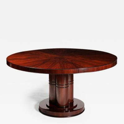 An Outstanding Art Deco Inspired Dining Table by Iliad Design