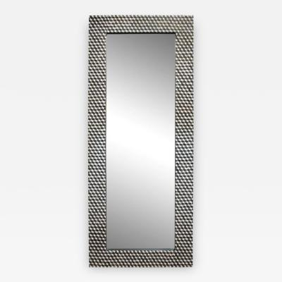 An Over Scaled Mid Century Modern Mirror