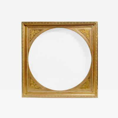 An Unusual Biedermeier Mirror