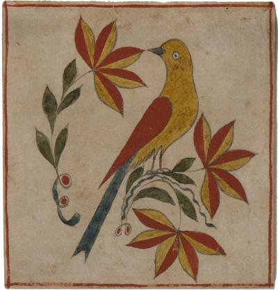 An extraordinary group of seven fraktur from Bucks County PA