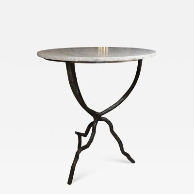 An iron and marble table Italy 90