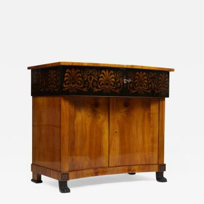 An unusual and rare late Empire sideboard