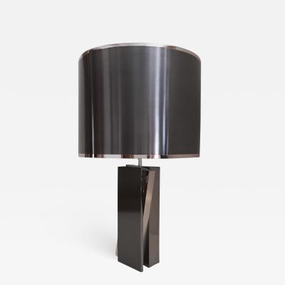 Ana s Duhallay Table Lamp Caviar by Ana s Duhallay in Patinated Brass