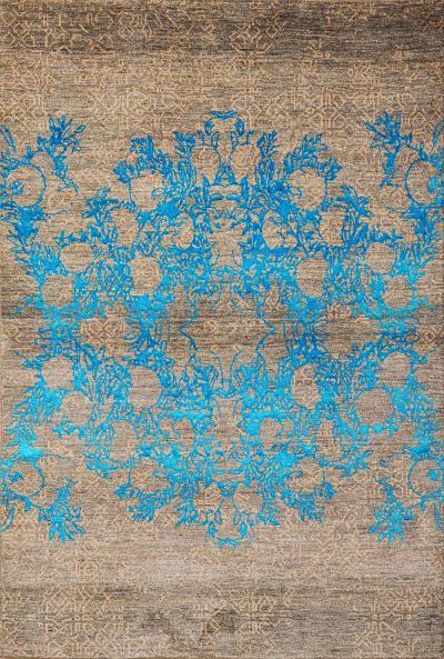 Anar dar Toor 2a NOV24 Studio for Zollanvari Super Fine Gabbeh Wool Silk