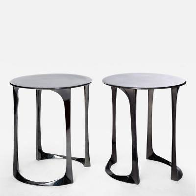 Anasthasia Millot Bronze Side Tables by Anasthasia Millot