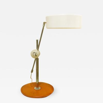 Anders Pehrson Anders Pehrson Simris Olympia Table Lamp with Leather Base 1960s